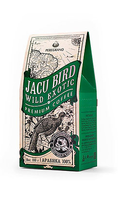 Кофе Жаку Берд, молотый в чашку, средняя обжарка, пакеты 10 шт х 10 г