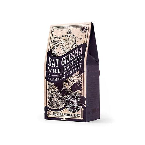 Кофе Бэт Гейша, молотый в чашку, средняя обжарка, пакеты 10 шт х 10 г