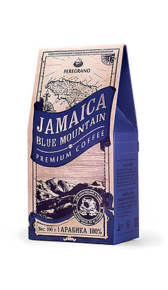 Кофе Ямайка Блю Маунтин, молотый в чашку, средняя обжарка, пакеты 10 шт х 10 г