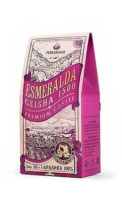 Кофе Эсмеральда Гейша 1500, молотый в чашку, средняя обжарка, пакеты 10шт х 10г
