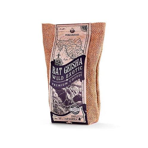 Кофе Бэт Гейша, молотый, средняя обжарка, упаковка 200 г