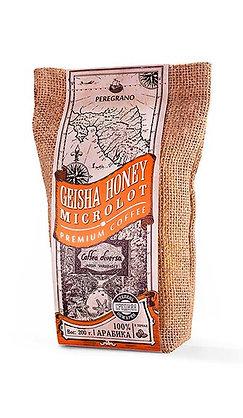 Кофе Гейша Хани, в зернах, средняя обжарка, упаковка 200 г