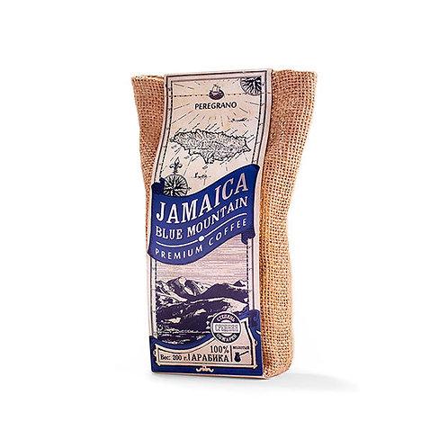 Кофе Ямайка Блю Маунтин, молотый, средняя обжарка, упаковка 200 г