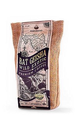Кофе Бэт Гейша, в зернах, темная обжарка, упаковка 200 г