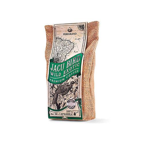 Кофе Жаку Берд, молотый, средняя обжарка, упаковка 200 г