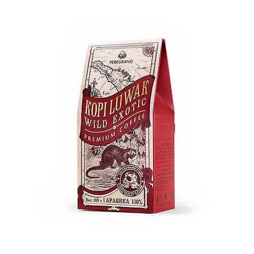 Кофе Копи Лювак, молотый в чашку, средняя обжарка, пакеты 10 шт х 10 г