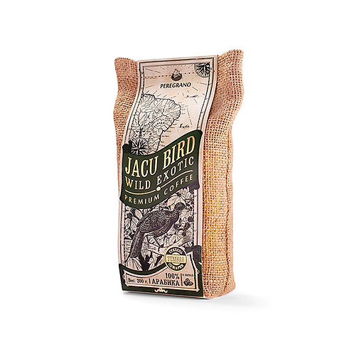 Кофе Жаку Берд, в зернах, темная обжарка, упаковка 200 г