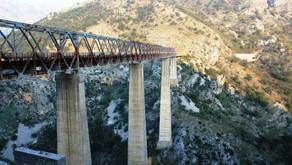 Мосты Черногории высотой более 150 метров