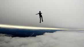 Между двух слоев облаков, путешествие в небо