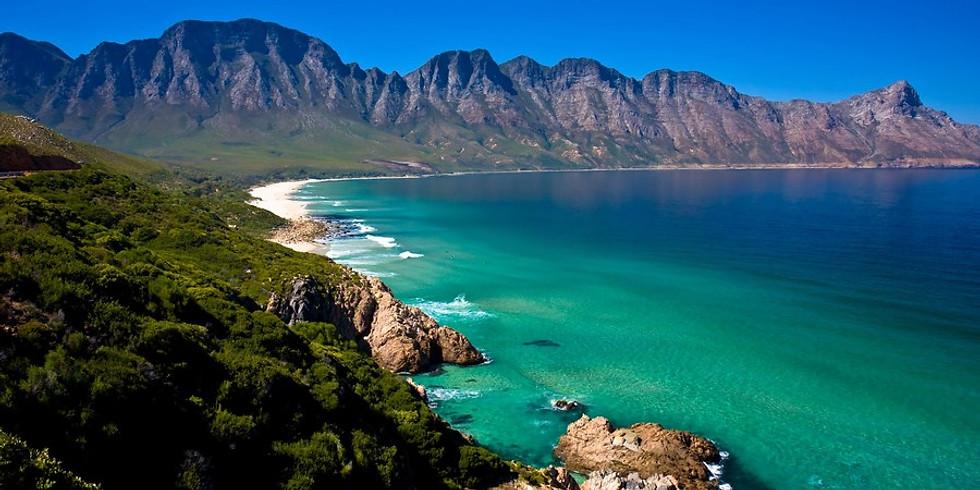 ЮАР: прыжки с парашютом, bungy, акулы, пингвины и вино