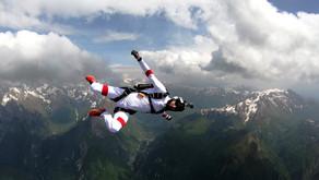 Прыжки с парашютом в Юлийских Альпах 2018 (Словения Бовец)