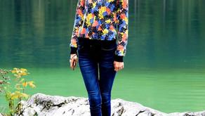 Одна девушка и 2 озера Баварии