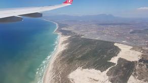 На подлете к Кейптауну, мир с высоты