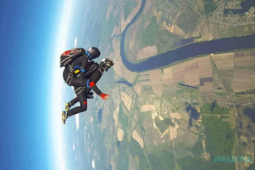 Коломна прыжки с парашютом