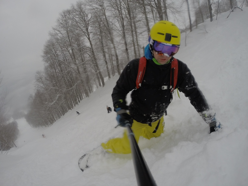 Free ride snowboard