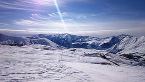 Гудаури - море снега