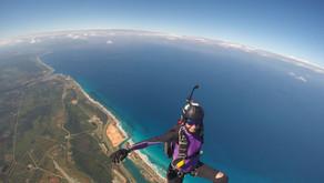 Огненные прыжки с парашютом на Кубе (Skydive Varadero)