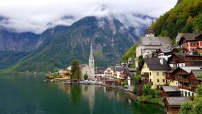 HALLSTATT - самый узнаваемый город Австрии
