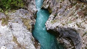 Бовец (Словения) - сердце Юлийских Альп. Skydive, неоновая река и панорамные дороги