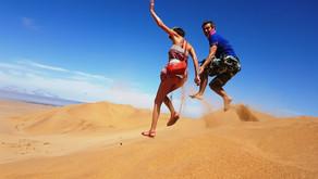 Как мы ползли на самую высокую песчаную дюну в мире