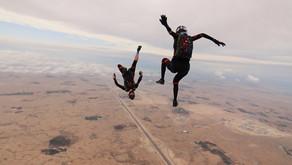 IRADIMA открыли сезон прыжков с парашютом в Катаре