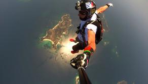 Панама. Прыжки с парашютом на жемчужных островах