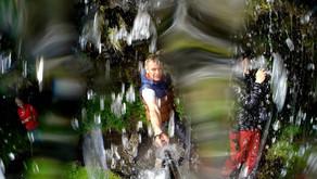 Очень необычный водопад Исландии