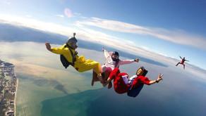 А вы знали, что в Мексике можно прыгнуть с парашютом?