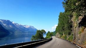 Красоты дорог Норвегии