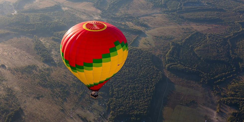 5 000 руб. Прыжки с шара или полетать на воздушном шаре
