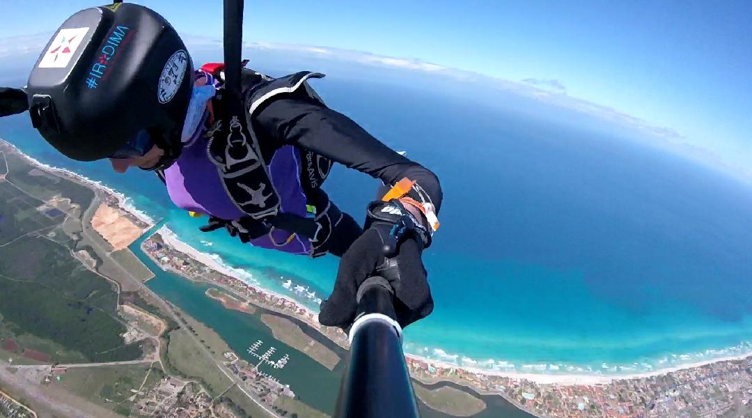 Куба прыжки с парашютом