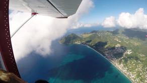 Прыжок с парашютом на Мартинике