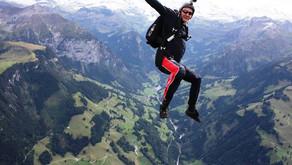 Как прыгнуть с парашютом в швейцарских Альпах