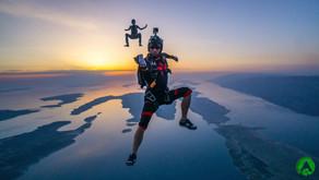 Прыжки c парашютом в Хорватии над островами. Zadar