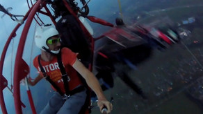 IRADIMA - прыжок с парашютом с параплана