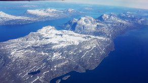 Гренландия с высоты