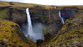 Водопад Haifoss, Исландия