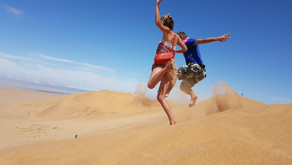 Намибия: Свакопмунд, Уолвиш Бей, самая высокая в Мире дюна