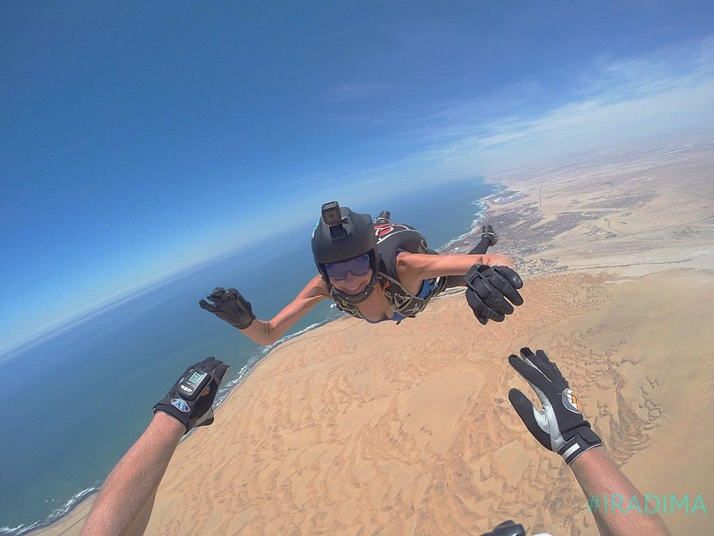 Skydive namibia, swakopmund