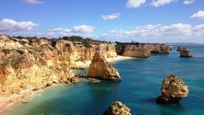 Португалия, Алгарве. Нереально красивое побережье Атлантики