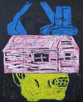 Excavator, House, Teeth