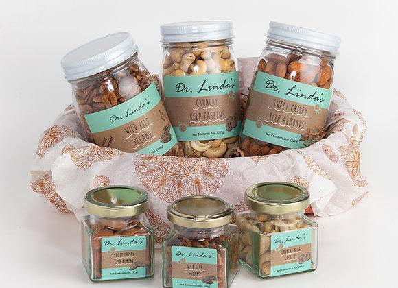 Nut Lover's Delight Gift Basket