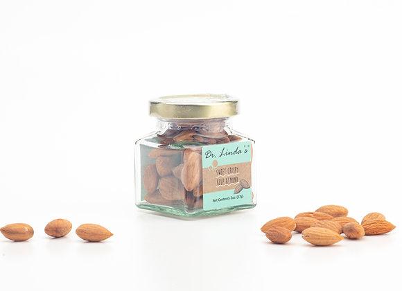 Sweet Crispy Kelp Almonds (Small, 2 oz)