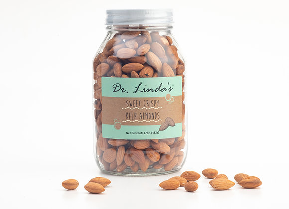 Sweet Crispy Kelp Almonds (Large, 17oz)