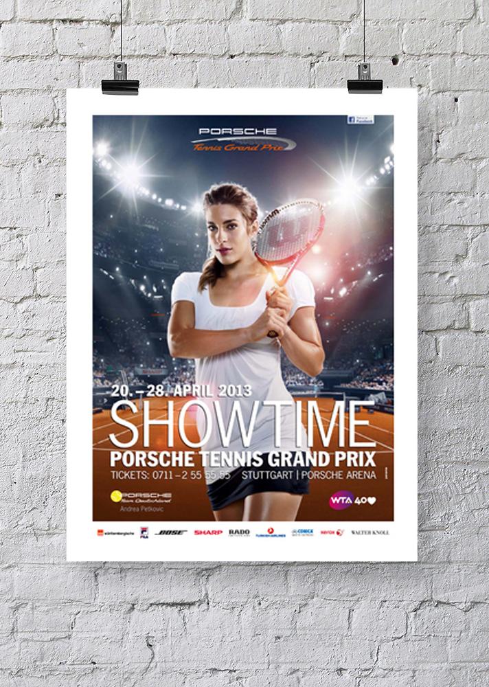 Plakat Porsche Tennis Grand Prix
