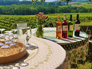 Arranging wonderful days out tasting delicious wine in the Bergerac region of France.