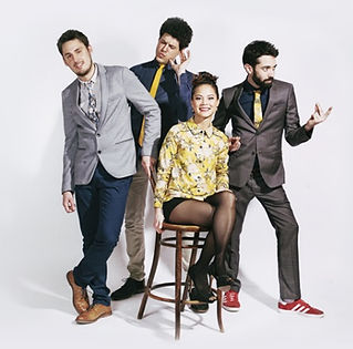 The Stereos are a 4-piece band playing pop and soul hits for weddings in France.