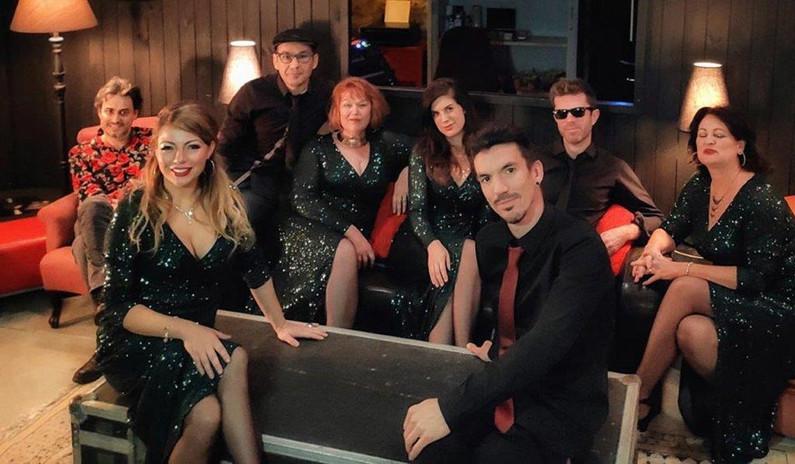 The Bonbons soul band