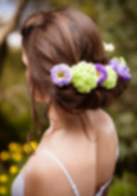 Wedding hairdresser in South-West France