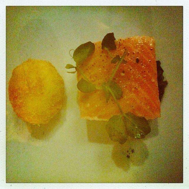 The Taste Parlour salmon dish